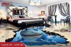 Sàn 3D - Giải pháp toàn diện về thẩm mỹ và kỹ thuật