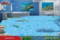 Gạch tranh 3D đại dương - Dẫn đầu trào lưu