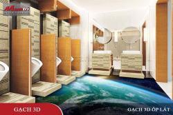 Chọn gạch tranh 3D phù hợp với nội thất trong nhà