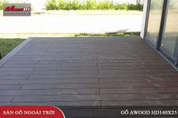 Lắp đặt gỗ Awood HD140x25_Coffee tại Resort Vũng Tàu