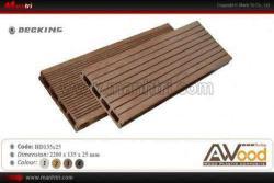 Sàn gỗ Awood HD135x25 Coffee