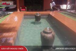 Lót sàn gỗ Awood HD135x25_Wood tại quận 2, TPHCM
