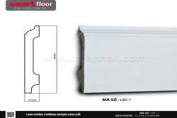 Len chân tường nhựa sàn gỗ L95-1