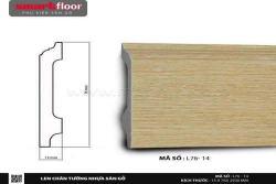 Len chân tường nhựa sàn gỗ L76-14