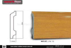 Len chân tường nhựa sàn gỗ L76-13