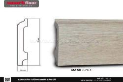 Len chân tường nhựa sàn gỗ L76-4