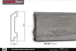 Len chân tường nhựa sàn gỗ L76-2