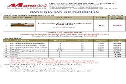 Báo giá sàn gỗ FloorMax