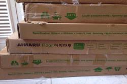 Trải nghiệm sàn nhựa Aimaru cùng Mạnh Trí