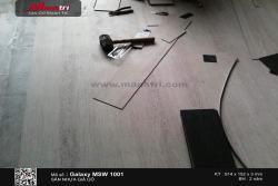 Lắp đặt sàn nhựa giả gỗ Galaxy tại Quận 3, TP.HCM