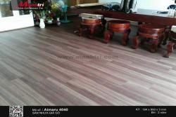 Thi công sàn nhựa giả gỗ Aimaru 4040 tại Hương Lộ 2, Q.Bình Tân