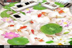 Chi phí xây một hồ cá 3D trong nhà