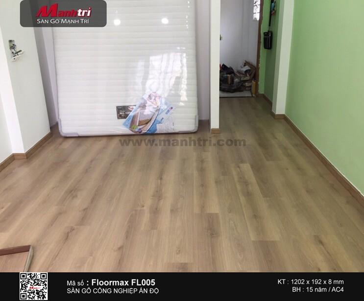 Lót sàn gỗ công nghiệp Floormax FL005 tại Q.Phú Nhuận, TP.HCM