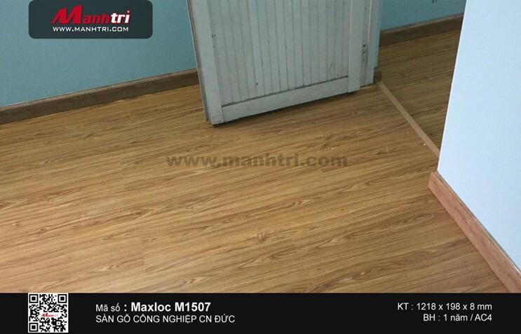 Lắp đặt sàn gỗ công nghiệp Maxlock M1507 tại Q.Tân Phú, TP.HCM