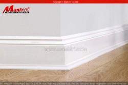 Ảnh phụ kiện sàn gỗ công nghiệp len tường và nẹp chỉ