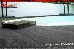 Giá sàn gỗ ngoài trời AWood WPC cuối năm có thay đổi ?