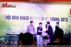 Hình ảnh tại Hội nghị khách hàng sàn gỗ Robina HCM 2012