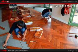Một số kỹ thuật lắp đặt sàn gỗ tự nhiên hiện nay!