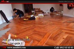 Phong cách sàn gỗ tại TP.HCM