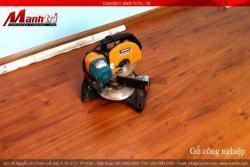 Sàn gỗ công nghiệp công ty Mạnh Trí thi công lắp đặt