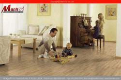 Sàn gỗ công nghiệp Deluxe House