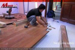 Sàn gỗ công nghiệp và tự nhiên khác nhau