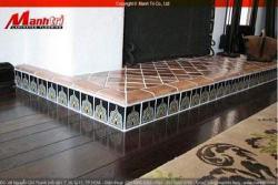 Sàn gỗ Màu nâu ấm cho mùa đông lạnh