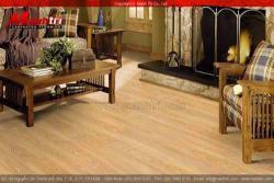 Sàn gỗ phòng khách Đẹp và Hiện Đại