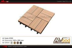 Ván sàn gỗ ngoài trời dạng Vỉ lát sàn Awood