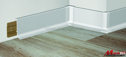 Vì sao phải dùng nẹp kết thúc khi thi công sàn gỗ công nghiệp?