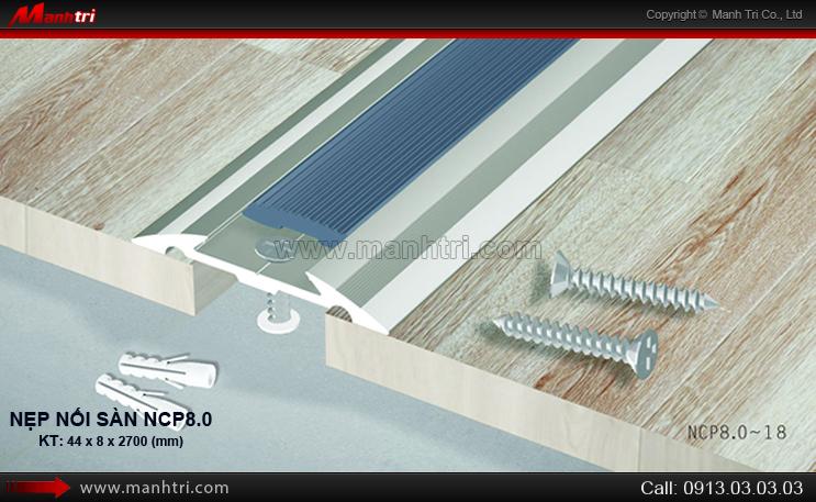 Nẹp nối sàn NCP8.0