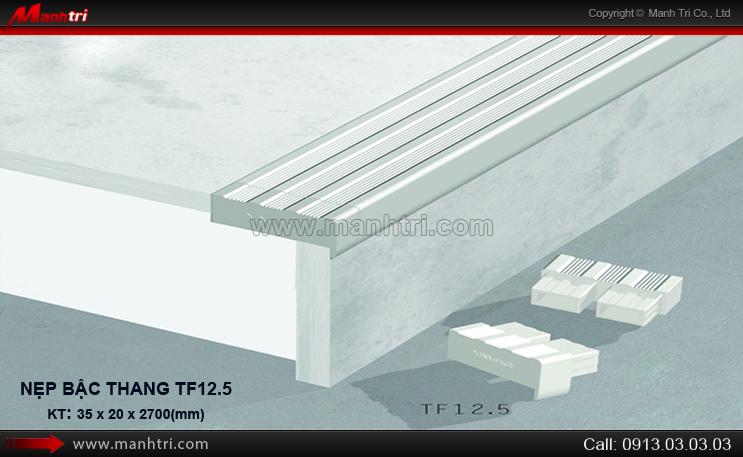 Nẹp bậc cầu thang TF12.5
