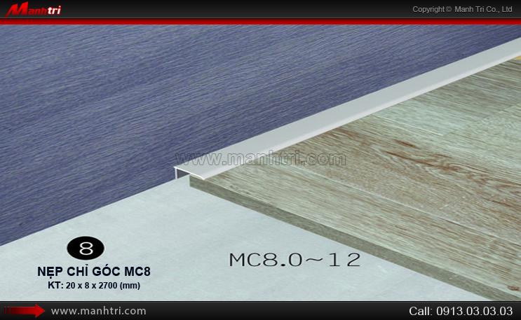 Nẹp chỉ góc MC8