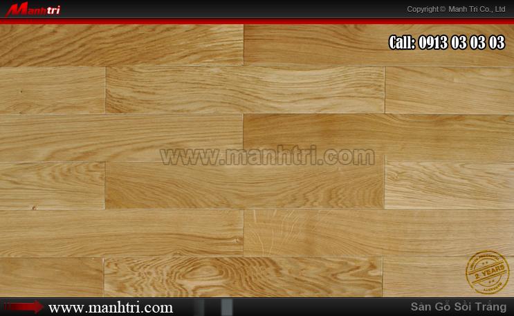 Lắp đặt sàn gỗ tự nhiên Sồi tại Vũng Tàu vào tháng 12-2013