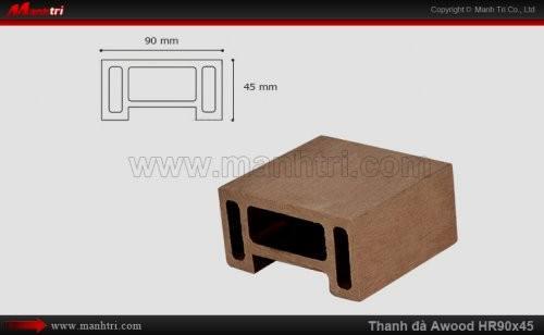 Thanh đà Awood HR90x45