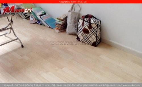 Lắp đặt sàn gỗ công nghiệp Smart Floor MT001 tại quận 11, TPHCM
