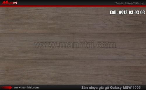 Sàn nhựa giả gỗ Vinyl Galaxy MSW 1005-D