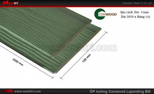 Ốp tường CONWOOD Lapsiding BG