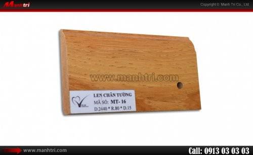 Len chân tường sàn gỗ MT 17