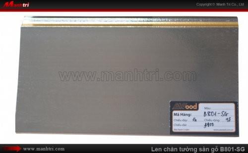 Len chân tường sàn gỗ Awood B801-SG