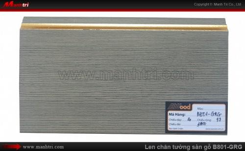 Len chân tường sàn gỗ Awood B801-GRG