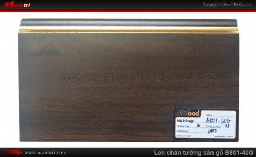 Len chân tường sàn gỗ B801-40G