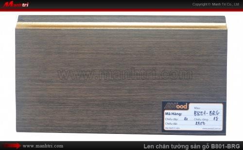 Len chân tường sàn gỗ Awood B801-BRG