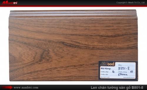 Len chân tường sàn gỗ Awood B801-8