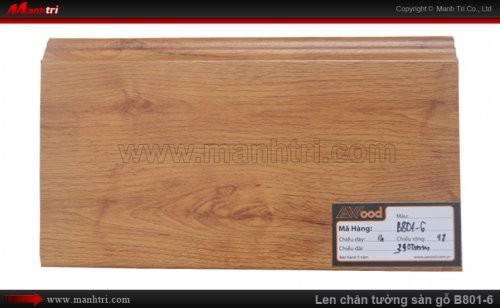 Len chân tường sàn gỗ Awood B801-6