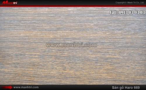 Sàn gỗ Haro 669
