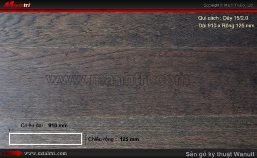 Sàn gỗ kỹ thuật Walnut