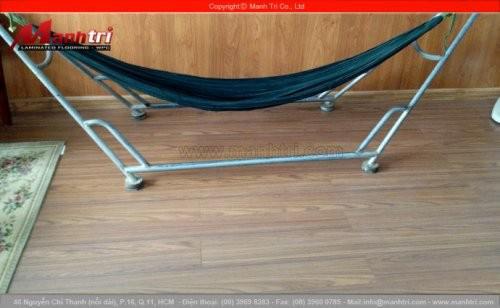 Lắp đặt sàn gỗ công nghiệp Janmi T12 tại quán cafe Xương Rồng tỉnh An Giang