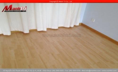 Sàn gỗ công nghiệp Haro 760 lắp đặt tại quận 1, TPHCM