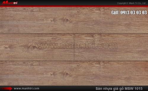 Sàn nhựa giả gỗ Vinyl Galaxy MSW 1015